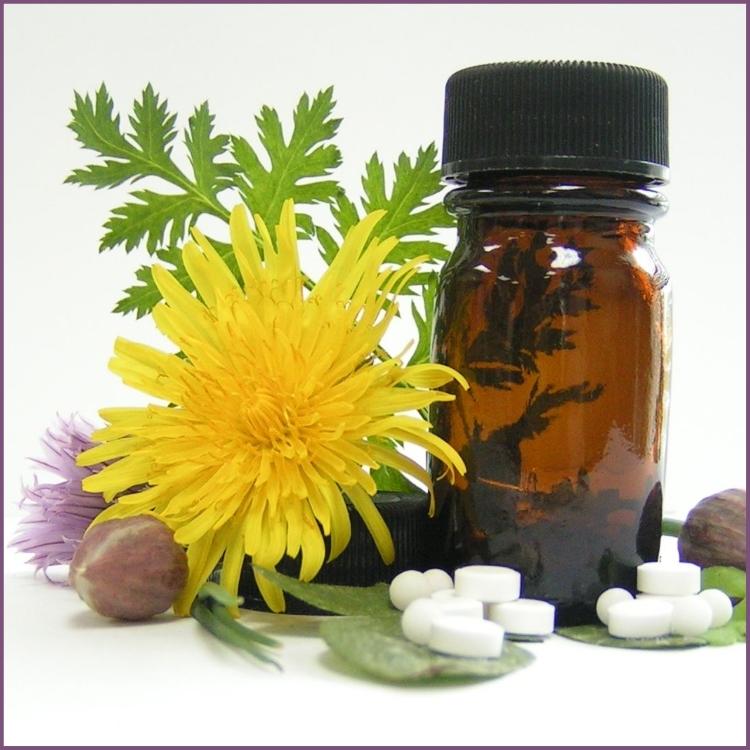 Гомеопатия и фитопрепараты